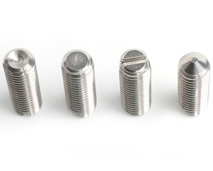 Stainless Steel Slotted Grubscrews
