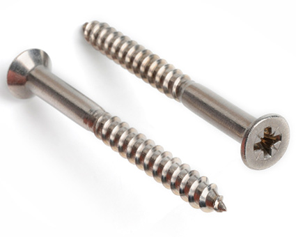 Stainless Steel Pozi Countersunk Woodscrews