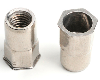 Stainless Steel Reduced Csk Half Hex Insert Nut